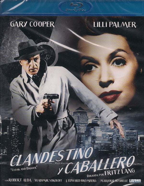 Clandestino y caballero (Cloak and Dagger) (Bluray Nuevo)