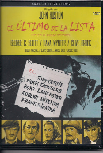 El último de la lista (The List of Adrian Messenger) (DVD Nuevo)