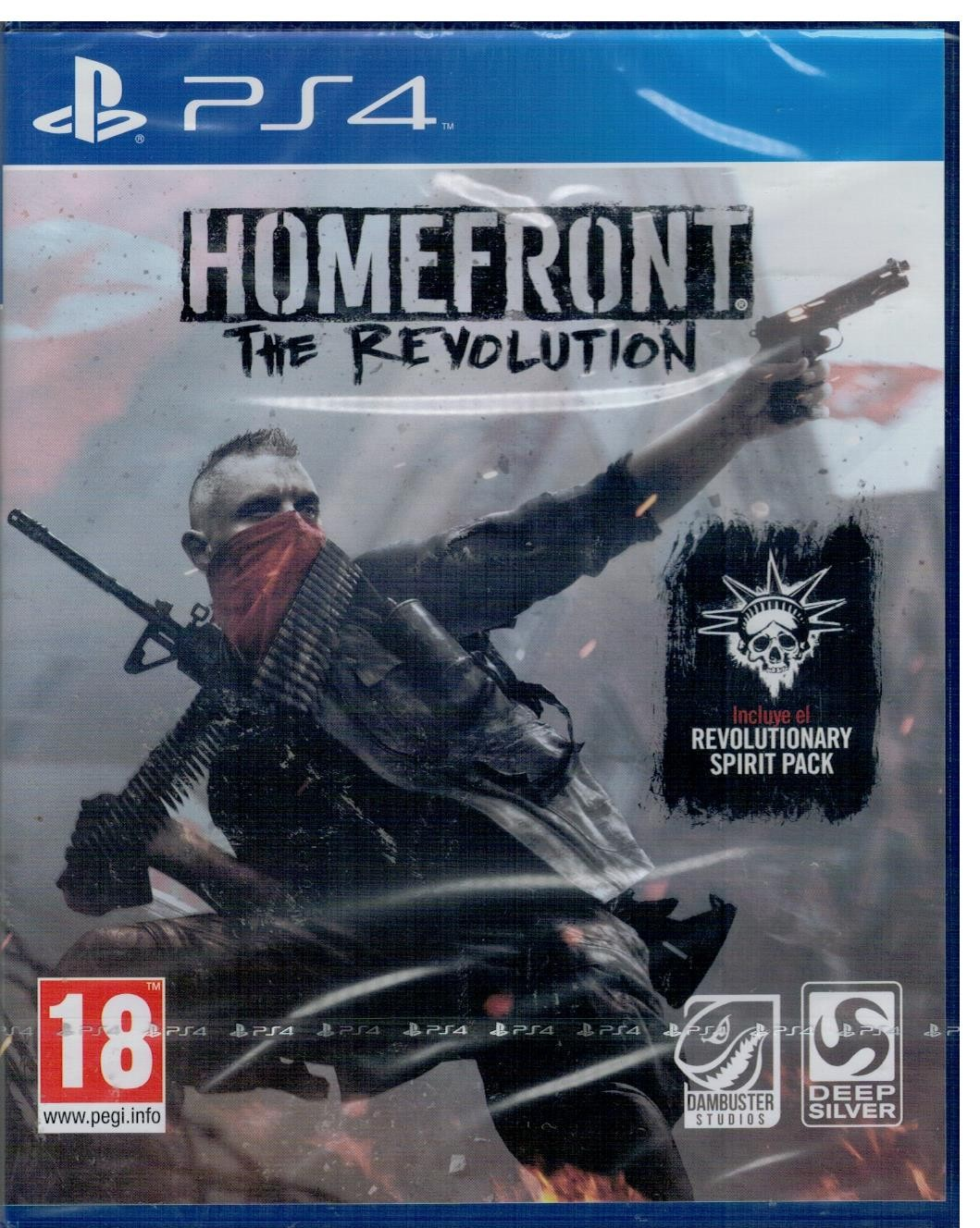 Homefront The Revolution  (PS4 Nuevo)