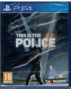 This is the Police 2  (PS4 Nuevo)