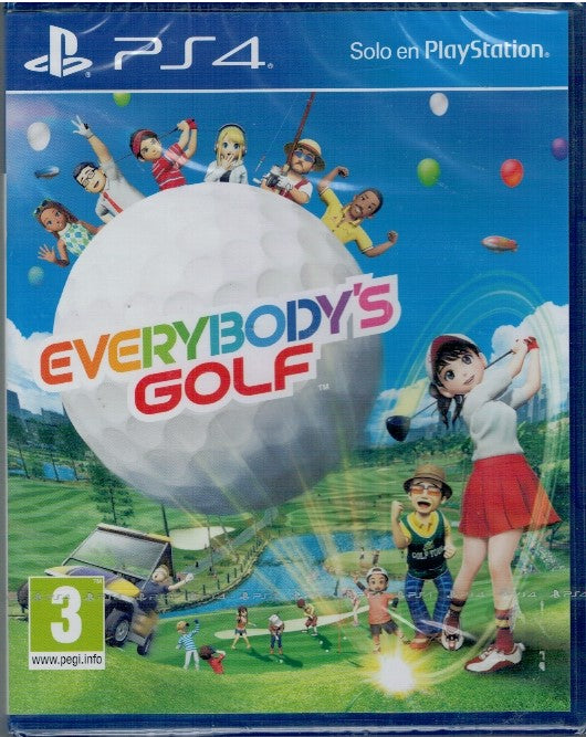 Everybody's Golf (PS4 Nuevo)