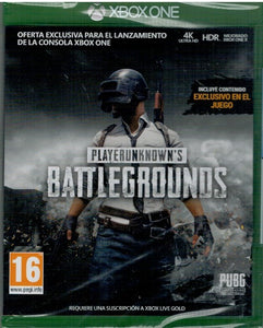 Playerunknowns Battlegrounds (XBOX ONE Nuevo)