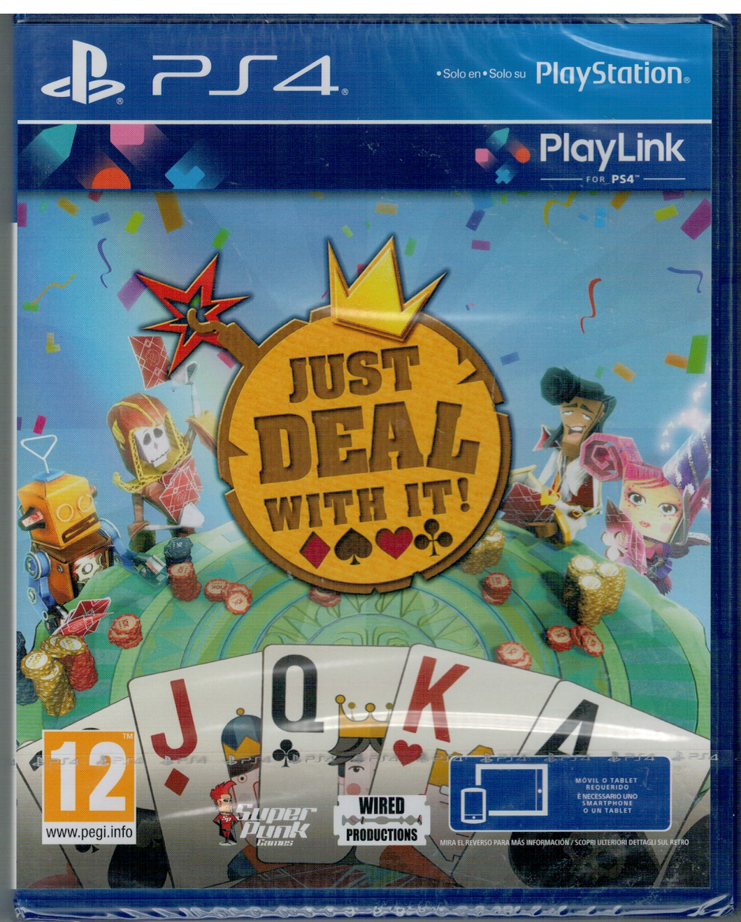Just Deal With It (PlayLink) (PS4 Nuevo)