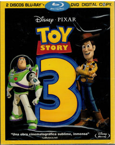 Toy Story 3 (2 Discos + Copia Digital) (Bluray Nuevo)