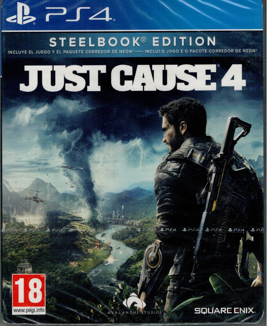 Just Cause 4 - Steelbook Edition  (PS4 Nuevo)