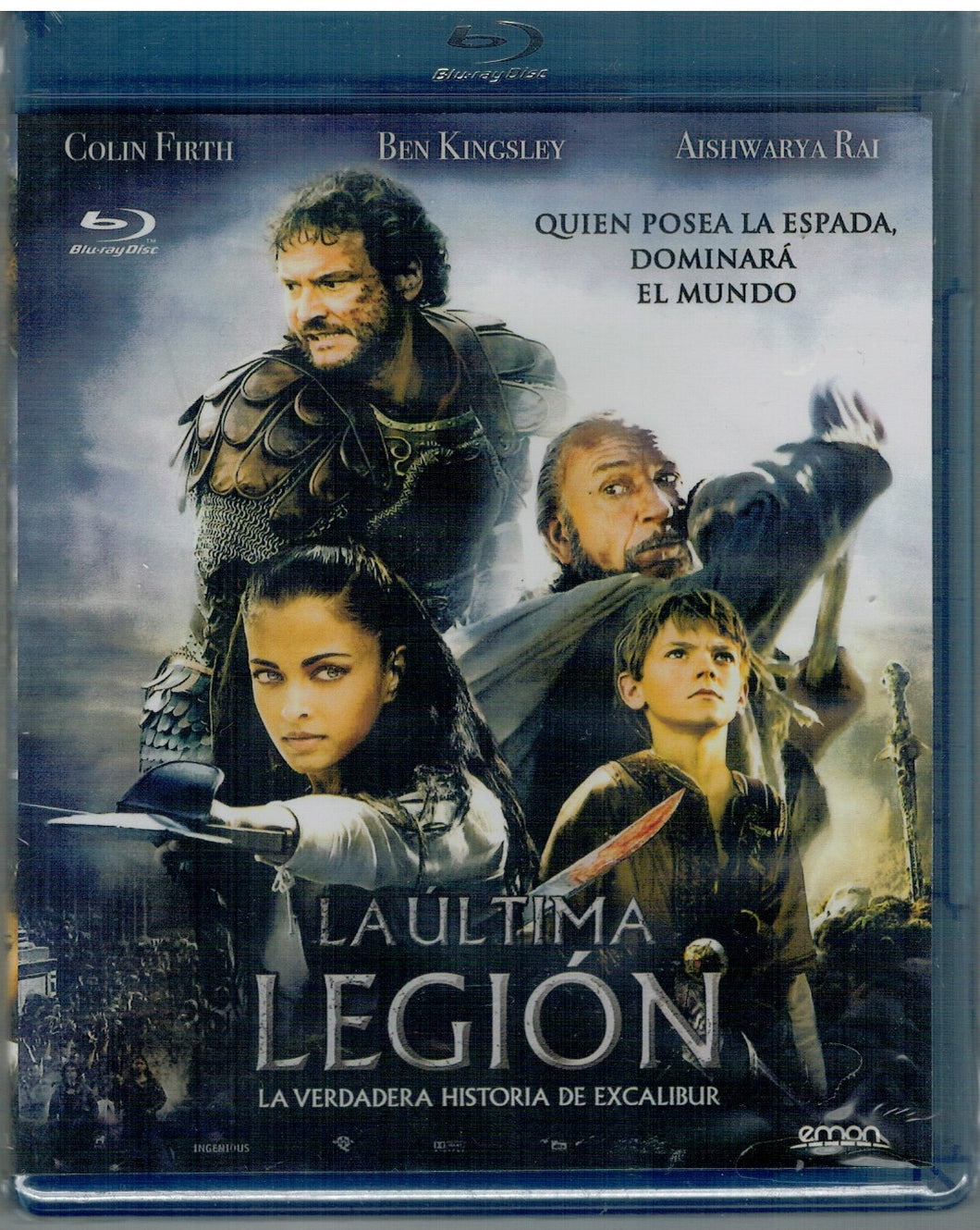 La ultima legion (The Last Legion) (Bluray Nuevo)