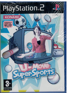 U-Move Super Sports (PS2 Nuevo)
