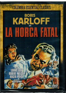 La horca fatal (The Man They Could Not Hang) (DVD Nuevo)