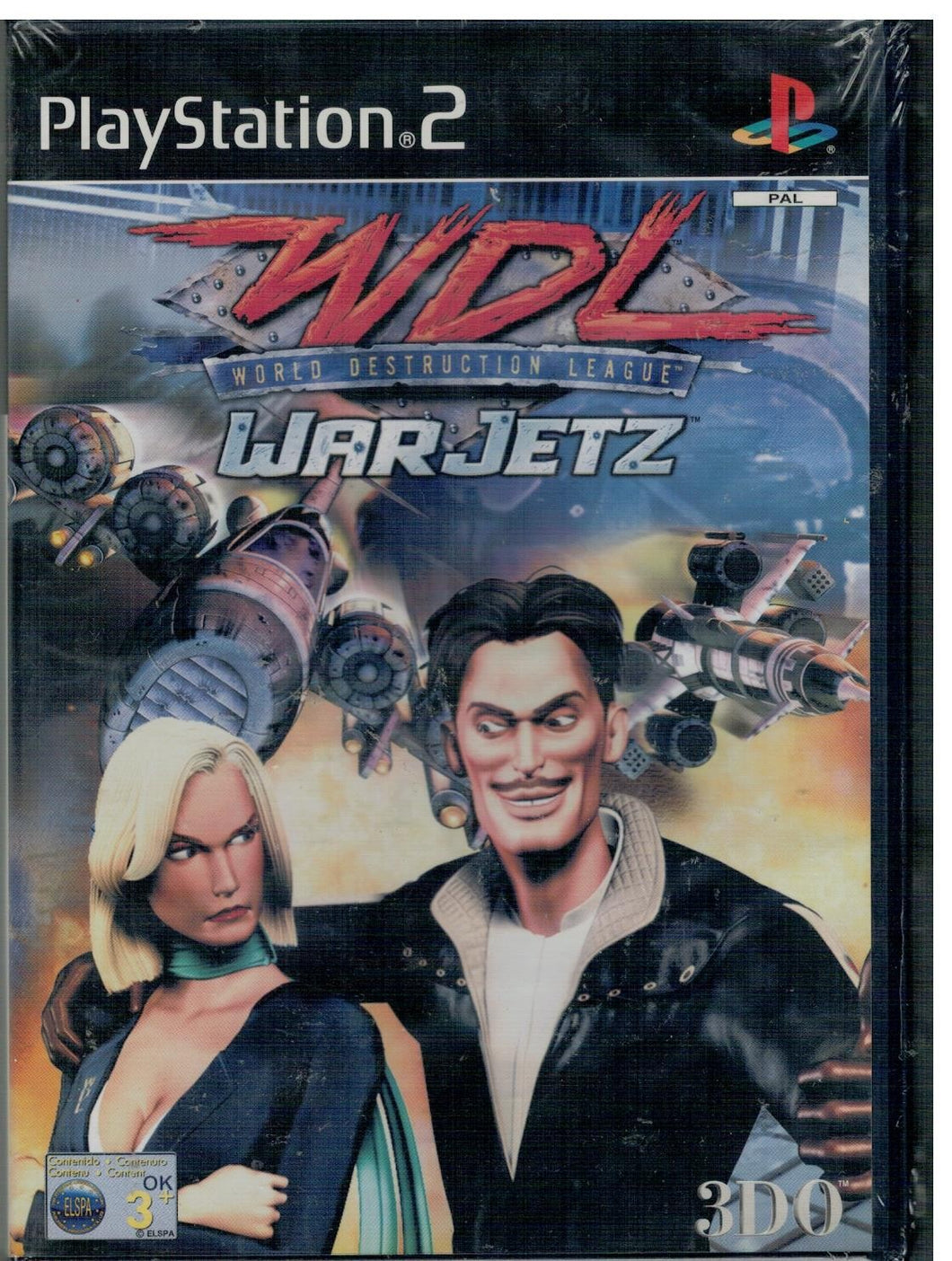 WDL World Destruction League - WarJetz (PS2 Nuevo)
