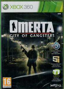 Omerta: City of Gangsters (Xbox 360 Nuevo)