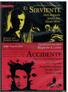El sirviente (The Servant) - Accidente (2 DVD Nuevo)