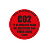 Identification Sign, Carbon Dioxide (CO2)