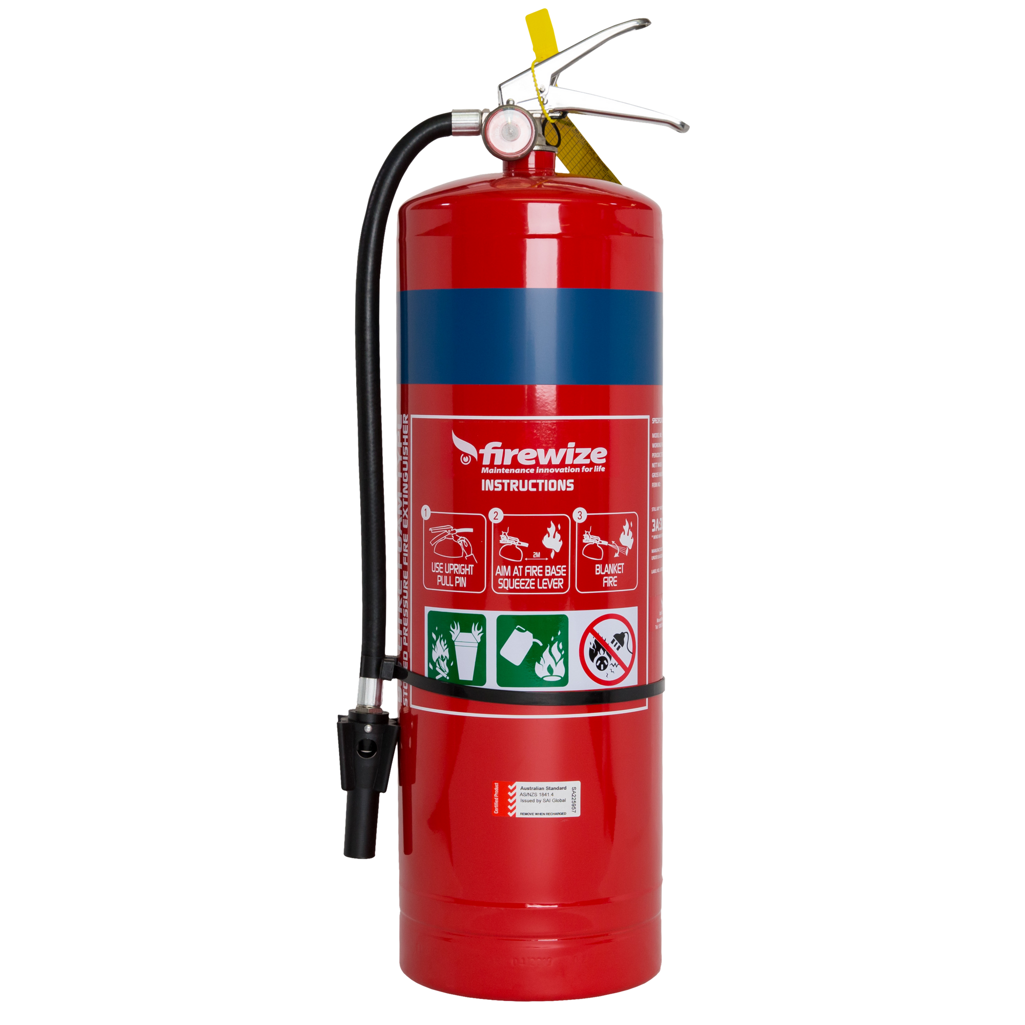 Air Foam AFFF 9.0lt Fire Extinguisher