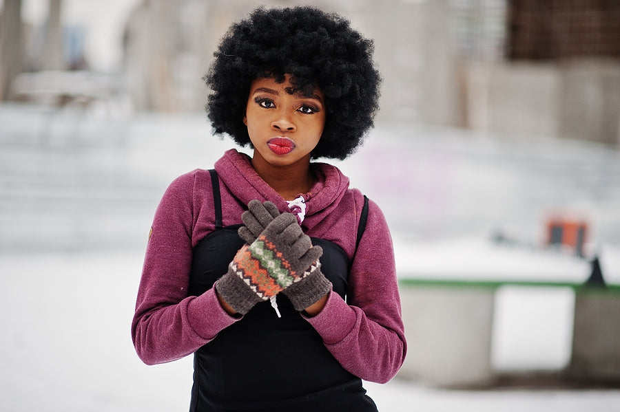 Protecting Natural Hair During Winter Months