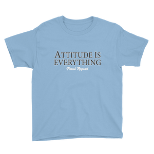 LIGHT BLUE YOUTH ATTITUDE SHORT SLEEVE T-SHIRT