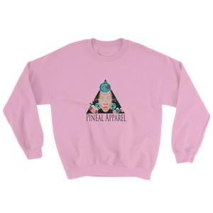 LIGHT PINK UNISEX PINEAL SWEATSHIRT