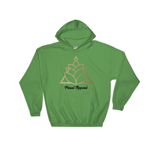 IRISH GREEN HOODED SWEATSHIRT