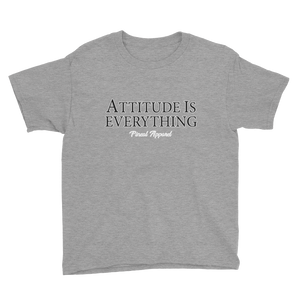 HEATHER GRAY ATTITUDE YOUTH SHORT SLEEVE T-SHIRT