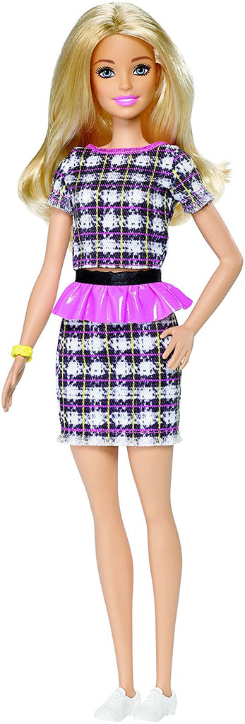 Barbie Fashionistas #58 Peplum Power Doll