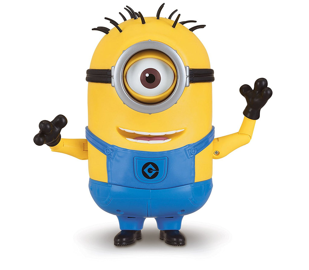 Despicable Me Talking Minion Carl Toy Figure