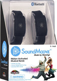 Cra-Z-Art SoundMoovz Musical Bandz, Motion-Activated, Bluetooth Music player – Black
