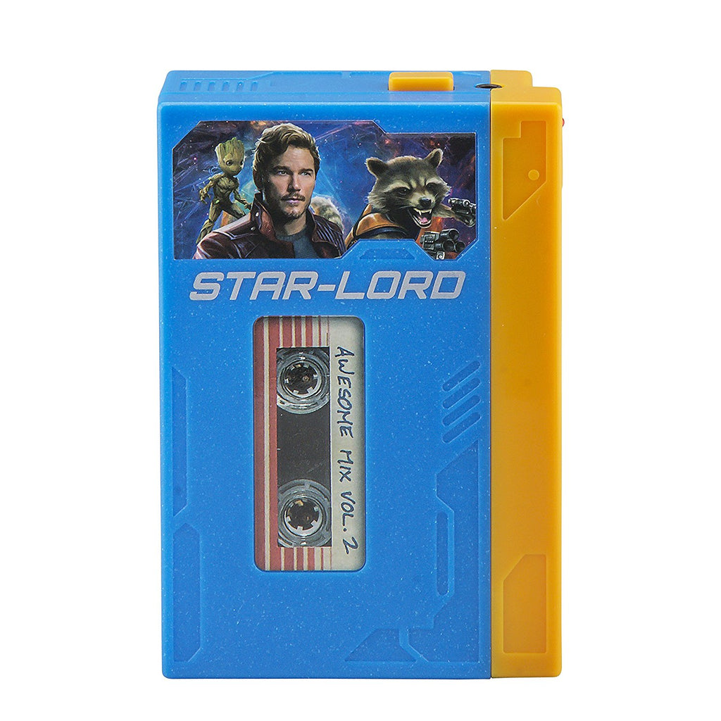 Guardians of the Galaxy Marvel Movie Toy Starlords Walkman Kids Voice Recorder and Kids mp3 Player All In One – Starlord Cassette Player With Starlords Headphones