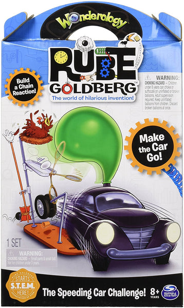 Rube Goldberg the Speeding Car Challenge Kids Physics
