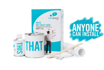 IdeaPaint CREATE White dry erase paint (whiteboard paint)