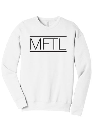 Made For This Life Signature MFTL White Sweatshirt