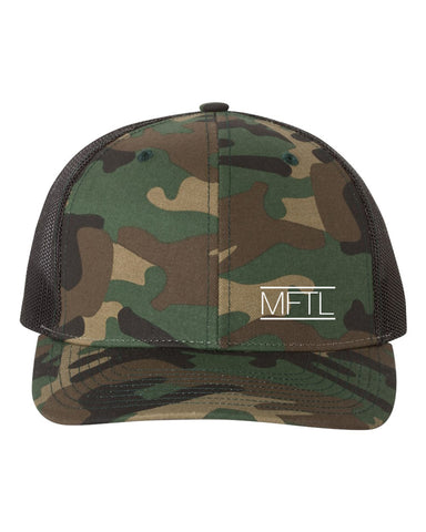 Made For This Life Signature MFTL Camouflage Snap Hat