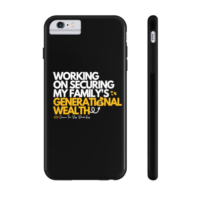 Generational Wealth  - Tough Phone Cases