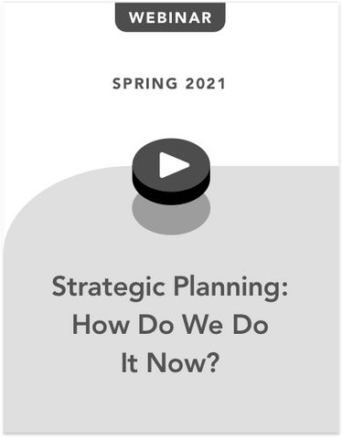 Strategic Planning: What Now?