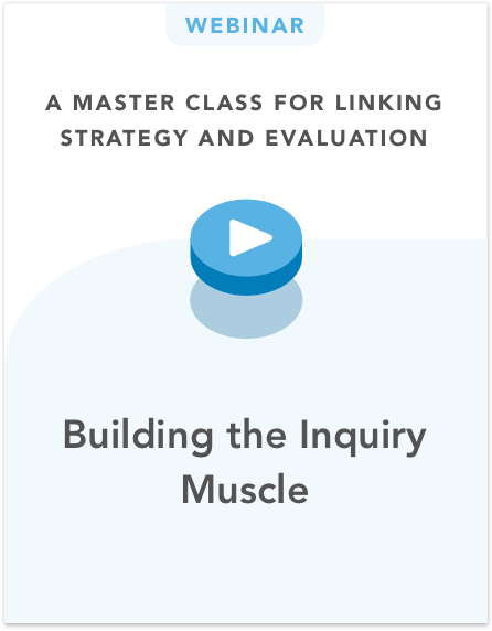 Building the Inquiry Muscle
