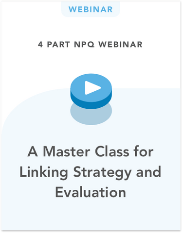 A Master Class for Linking Strategy and Evaluation