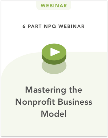 Mastering the Nonprofit Business Model