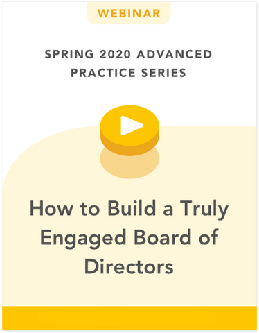 How to Build a Truly Engaged Board of Directors