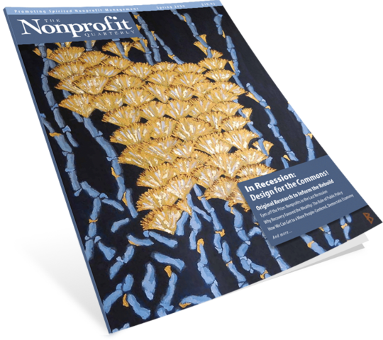 Nonprofit Quarterly Magazine Subscription (Canada)