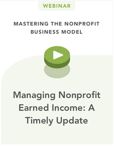 Managing Nonprofit Earned Income: A Timely Update with Kate Barr