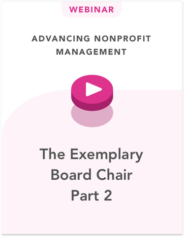 The Exemplary Board Chair Part 2