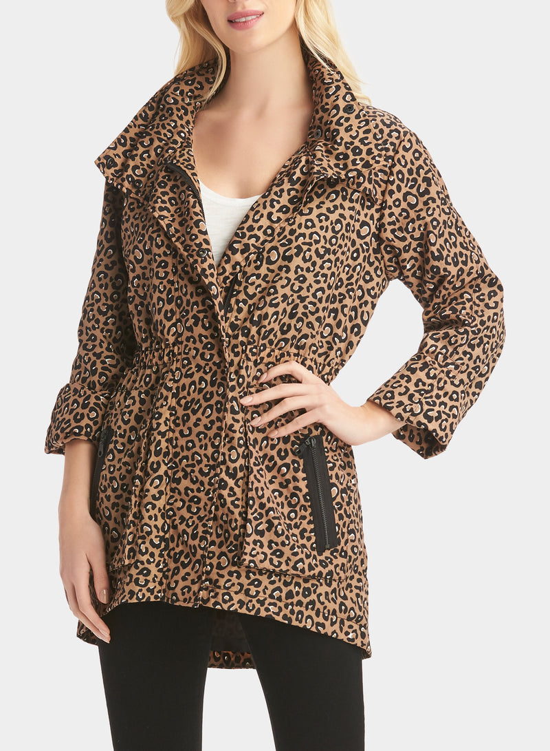 The Cory Jacket in Warm Leopard