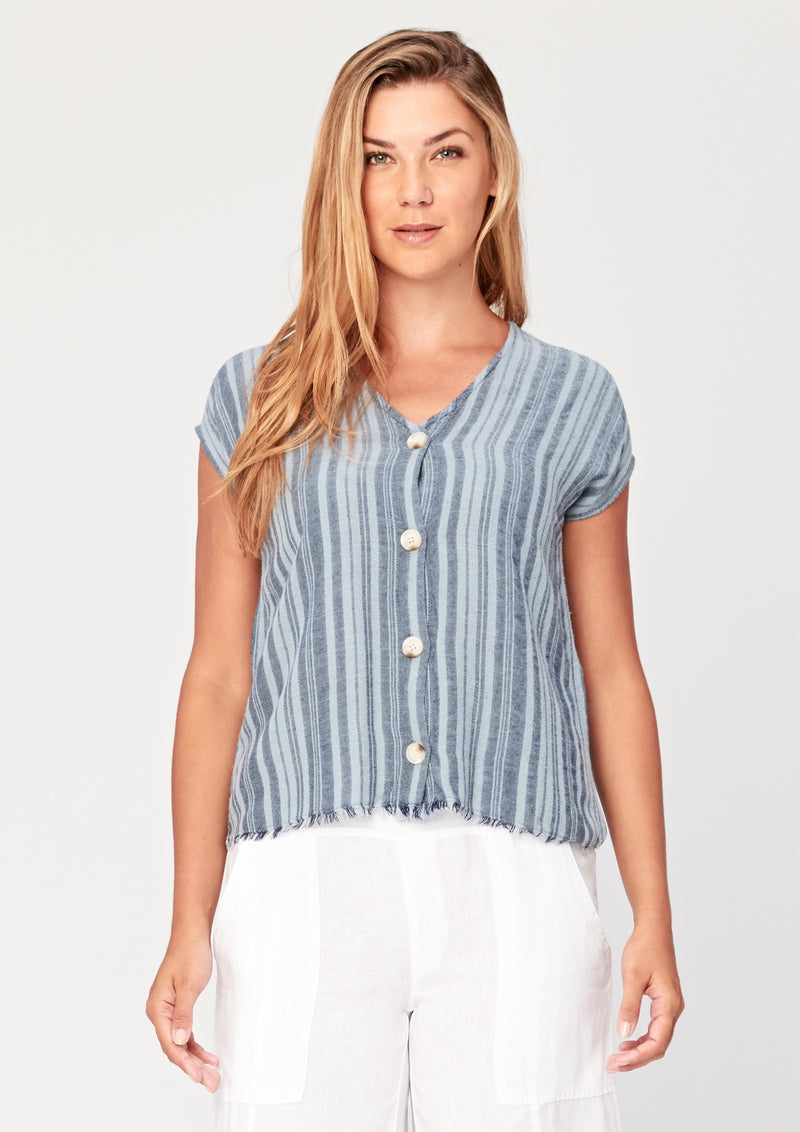 Cian Stripe Top