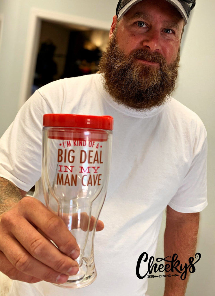 I'm Kind Of A Big Deal In My Man Cave Travel Tumbler Accessories 78