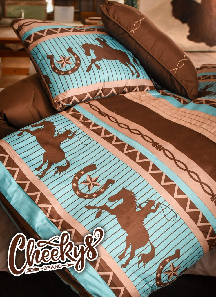 Cowboy Take Me Away Bed Set Home & Gift 156