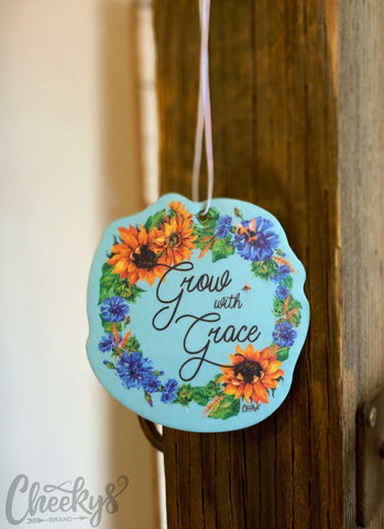 Grow With Grace Car Freshener