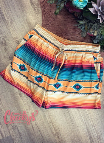Cancun Serape Shorts
