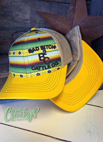 BB Cattle Co. in Harvest Serape Snap Back Cap