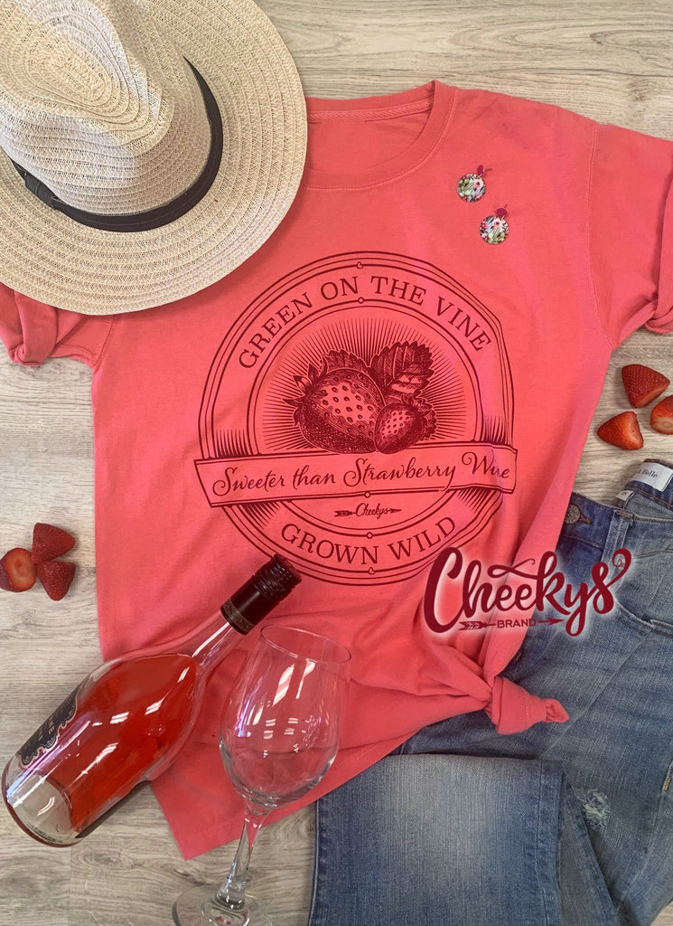 Sweeter Than Strawberry Wine Unisex on Watermelon