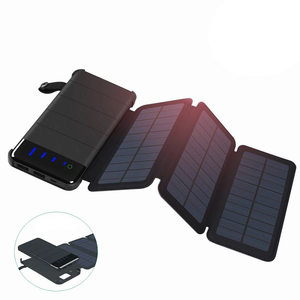 Ultralight Solar Charger w/ 10,000 mAh Battery