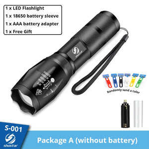 SunTorch TM The brightest flashlight