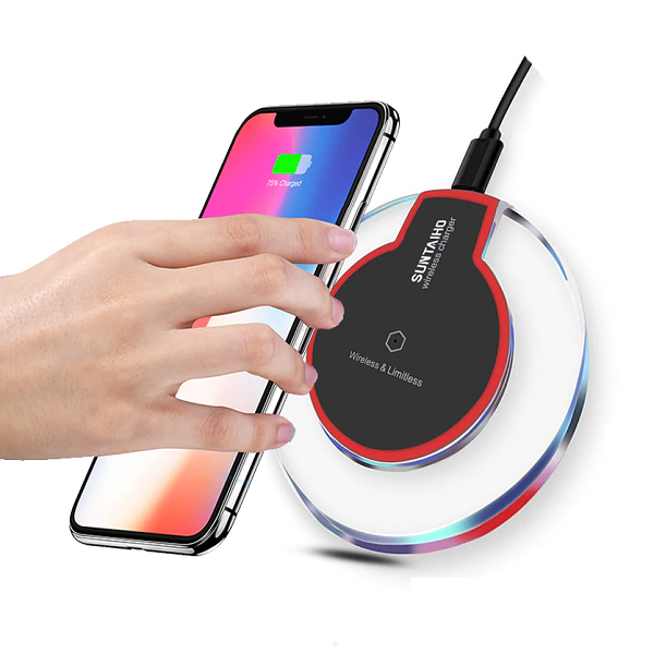 Wireless Glass Charger by Suntaiho